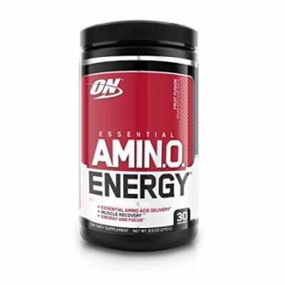Optimum Nutrition Essential Amino Energy, Fruit Fusion, 30 Servings, 9.5 ounces (270 grams)