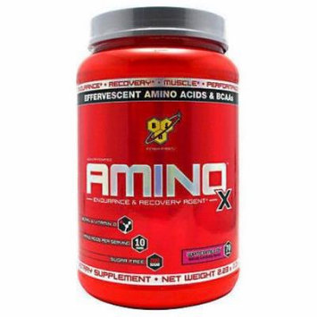 BSN Amino X Bcaa Amino Acids Large 70 Servings - Blue Raspberry