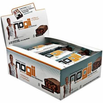 NoGii Chocolate Mint High Protein Bars, 1.93 oz, 12 count