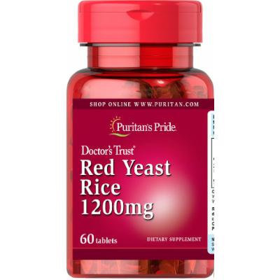 Puritan's Pride Red Yeast Rice 1200mg-60 Tablets
