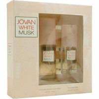 Jovan White Musk By Jovan For Women. Set-cologne Spray 2 Ounces & Cologne Spray .8 Ounces