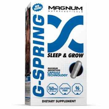 Magnum Nutraceuticals G-Spring Sleep & Grow Recovery System - 96 Capsules Improve Recovery & Burn More Fat During Rest