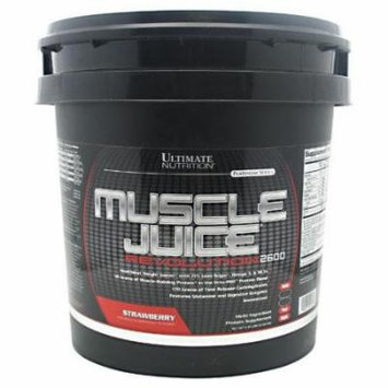 ULTIMATE NUTRITION Platinum Series Muscle Juice Revolution 2600 Strawberry 11.1 lbs (5.04 kg)