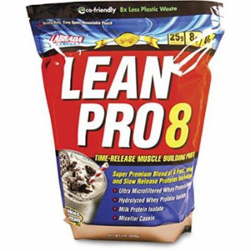 Labrada Nutrition Lean Pro 8 Protein Cookies and Cream, 5 Pound