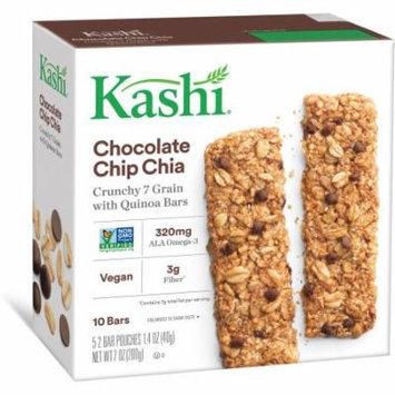 Kashi Chocolate Chip Chia Crunchy Granola & Seed Bars, 1.4 oz, 5 count