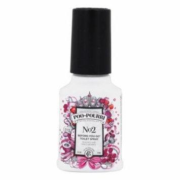 Poo~Pourri - No. 2 Before-You-Go Toilet Spray Peaches and Mixed Berries - 2 oz.