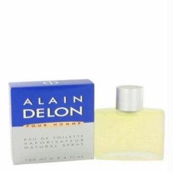 Alain Delon Pour Homme by Alain Delon 3.4 oz Eau de Toilette Spray