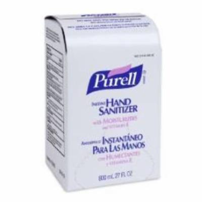 GOJO Hand Sanitizer 800 mL Alcohol Bag in Box (#9656-06, Sold Per Case)