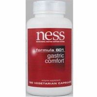 Ness Enzymes, Gastric Comfort #601 180 caps