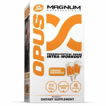 Magnum Nutraceuticals Opus Intra-Workout Powder Orange Dreamsicle -14.6oz Anabolic Energy Muscular Endurance Science