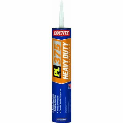 Loctite PL 375 Heavy Duty Construction Adhesive