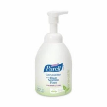 GOJO Hand Sanitizer Foam 535 ml 100% Ethanol Pump Bottle (#5791-04, Sold Per Case)