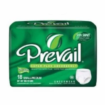 First Quality Absorbent Underwear Prevail Pull On Small / Medium Disposable Heavy Absorbency (#PVS-512, Sold Per Pack)
