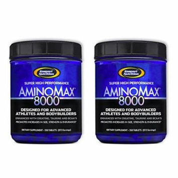 Gaspari Nutrition Amino Max 8000 350 Tablets [2 Pack]