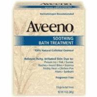J Moisturizer Aveeno Bath Bar 8 oz. (#3.8137E+11, Sold Per Piece)
