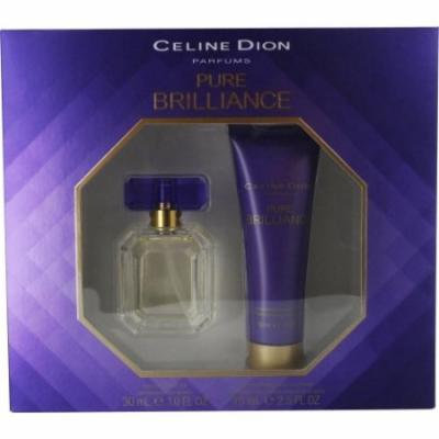 CELINE DION PURE BRILLIANCE by Celine Dion EDT SPRAY 1 OZ & BODY LOTION 2.5 OZ CELINE DION PURE BRI