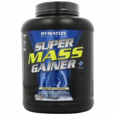 Dymatize Nutrition Super Mass Gainer, Cookies & Cream, 6-Pound
