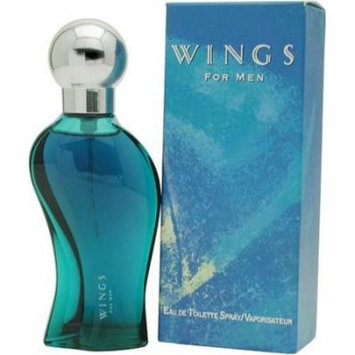 Wings By Giorgio Beverly Hills For Men. Eau De Toilette Spray 1.7 Ounces