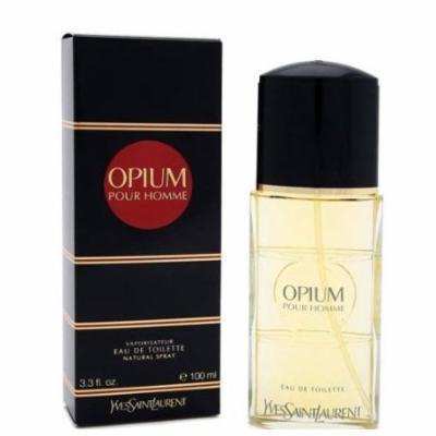 Opium Pour Homme by YSL Yves Saint Laurent for men 3.3 oz Eau De Toilette EDT Spray