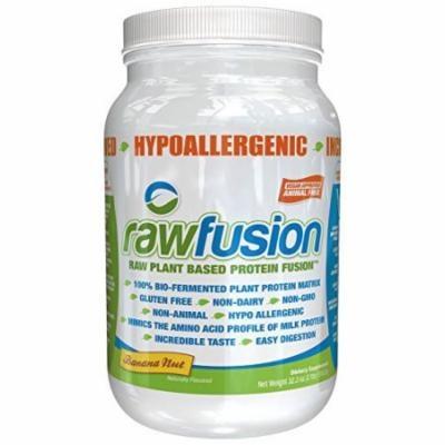 SAN Raw Nutrition Fusion, Banana Nut, 2 Pound