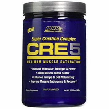 MHP Cre5, Super Creatine Complex, Unflavored, 10.58 Ounce