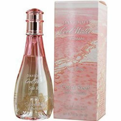 Cool Water Sea Rose Coral Reef by Davidoff Eau De Toilette Spray (Limited Edition) 3.4 oz for Women