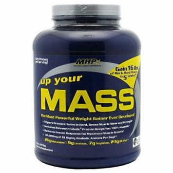 MHP, Up Your Mass Weight Gainer, Chocolate Peanut Butter, 5 Pound