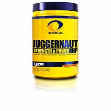 Infinite Labs Juggernaut HP Preworkout Supplement, Wild Cherry - 30 Servings (390 Gram)
