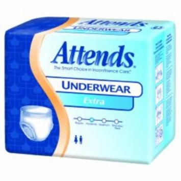 ATTENDS Absorbent Underwear Attends Pull On Large Disposable Moderate Absorbency (#AP0730100, Sold Per Pack)
