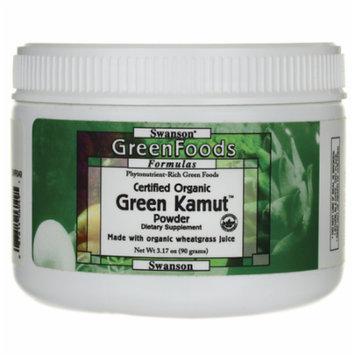 Swanson Certified Organic Green Kamut Powder 3.17 oz (90 grams) Pwdr