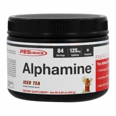 PEScience - Alphamine Energy Powder Iced Tea - 8.59 oz.