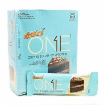Oh Yeah One Chocolate Birthday Cake - 12 Bars