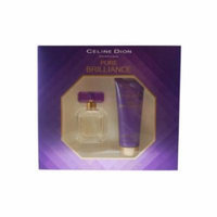 Celine Dion Pure Brilliance Set - For Women-Edt Spray 1 Oz & Body Lotion 2.5 Oz