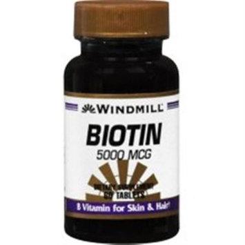 Windmill Biotin 5000 mcg Tablets 60 Tablets