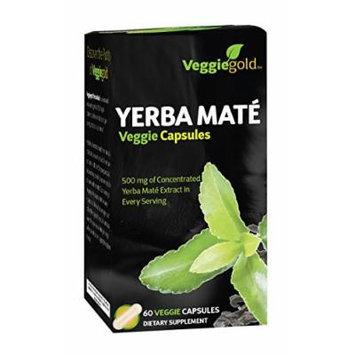 VeggieGold Yerba Mate Veggie Capsules, 60 Count
