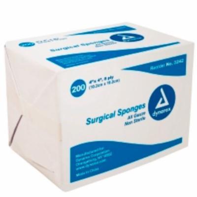 DYNAREX Gauze Sponge 8-Ply 4 X 4