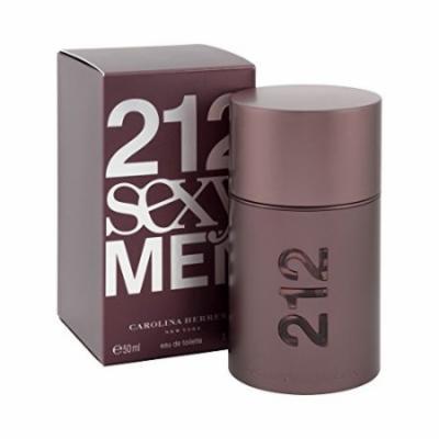 Carolina Herrera Beauty Gift 212 Sexy Cologne 1.7 oz Eau De Toilette Spray for Men