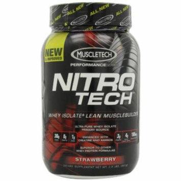 MuscleTech Nitro-Tech Performance Series, Strawberry, 2 lbs
