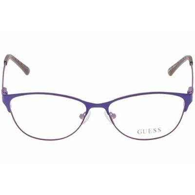 Guess GU 2504 53079 53mm Matte Lilac Eyeglasses