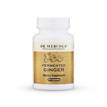Dr. Mercola Fermented Ginger - 60 Capsules