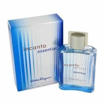 NEW - Incanto Essential by Salvatore Ferragamo Eau De Toilette Spray 3.4 oz for Men- 439695