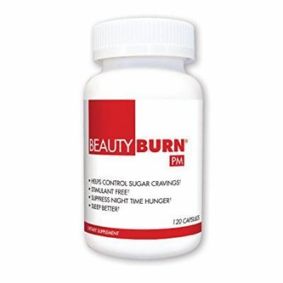 BeautyFit BeautyBurn PM, Evening Appetite & Sugar Suppressant For Women, 120 capsules