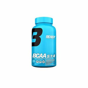 Beast Sports Nutrition, BCAA 5:1:4, 240 Count