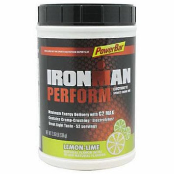 PowerBar IronMan Perform Electrolyte Lemon-Lime Sports Drink Mix, 2.06 lbs