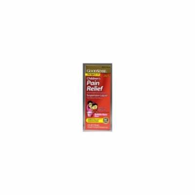 Good Sense Acetaminophen Children's Pain Reliever Oral Suspension Liquid, Bubble Gum 4 oz