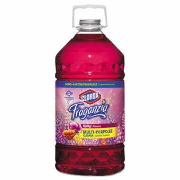 Fraganzia Multi-Purpose Cleaner, Spring Scent, 175 oz Bottle, 3/Carton 31524