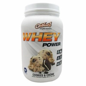 ISS Oh Yeah Whey Power Cookies & Creme - 2 lb