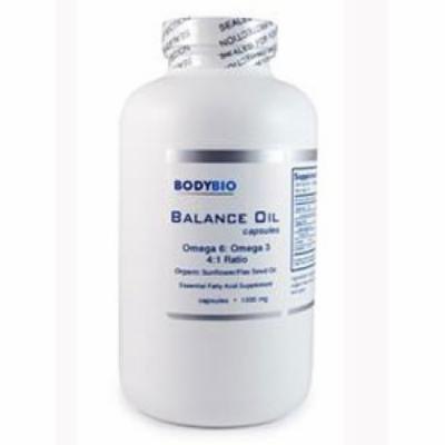 BodyBio/E-Lyte, BodyBio Balance Oil 180 caps