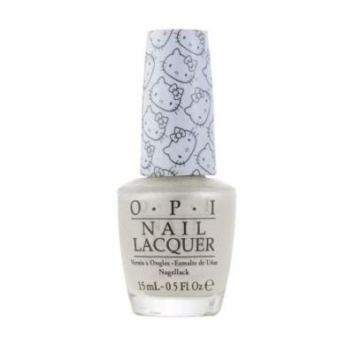 OPI Nail Lacquer, OPI Hello Kitty Collection, 0.5 Fluid Ounce - Kitty White H80