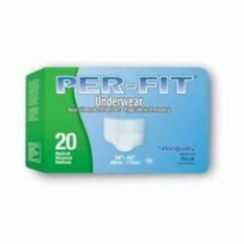 First Quality Absorbent Underwear Prevail Pull On Medium Disposable Heavy Absorbency (#PF-512, Sold Per Pack)
